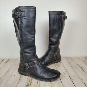 EUC BOC Tall Black Riding Boot, size 8